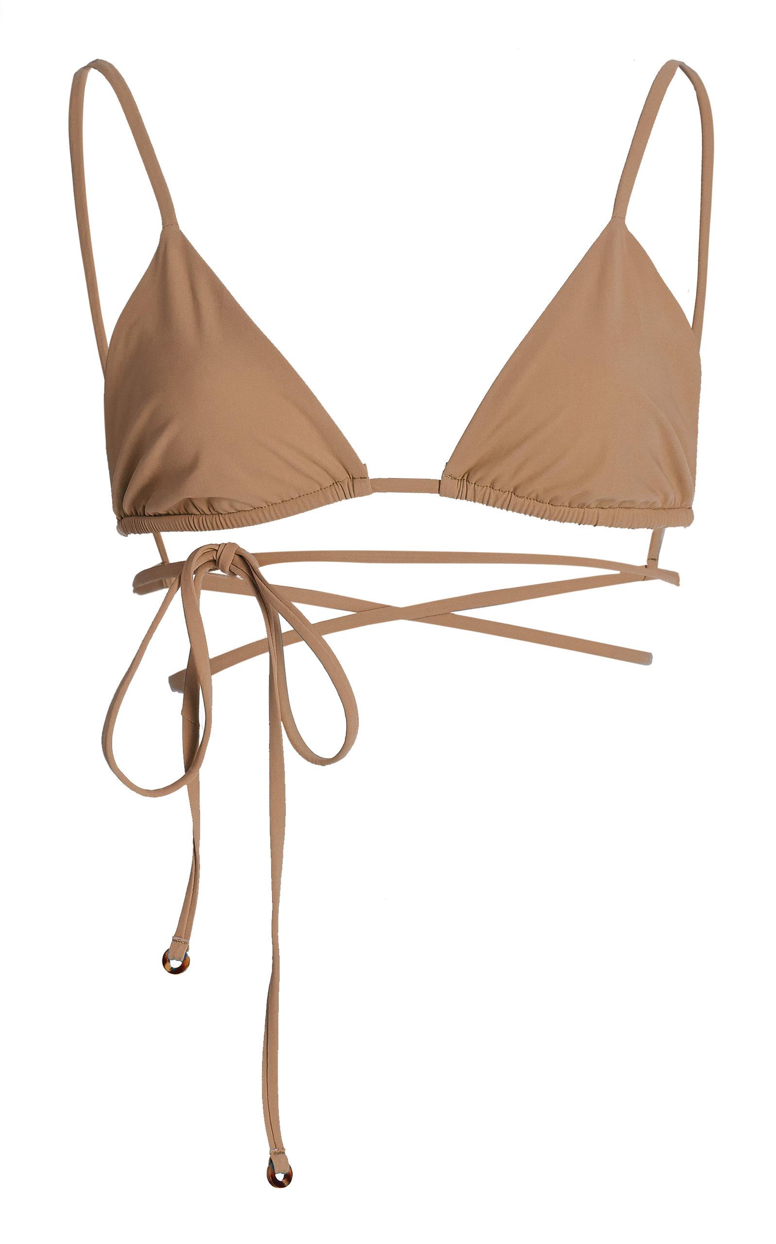 Women's The Wrap Triangle Bikini Top