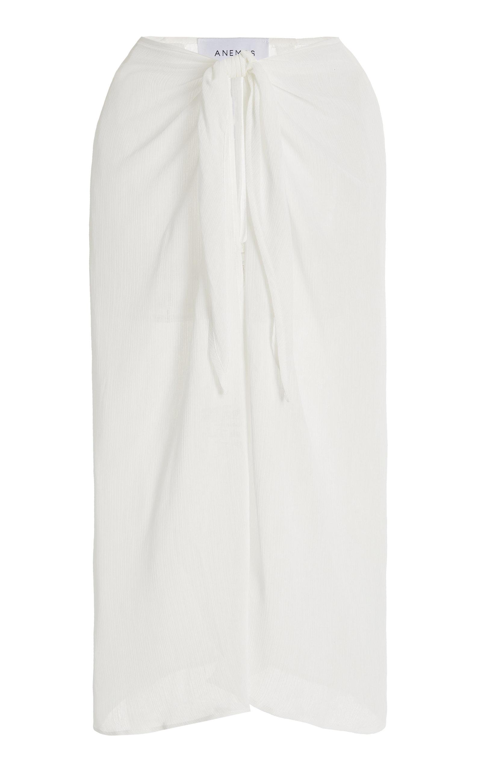 Women's The Wrap Chiffon Midi Skirt
