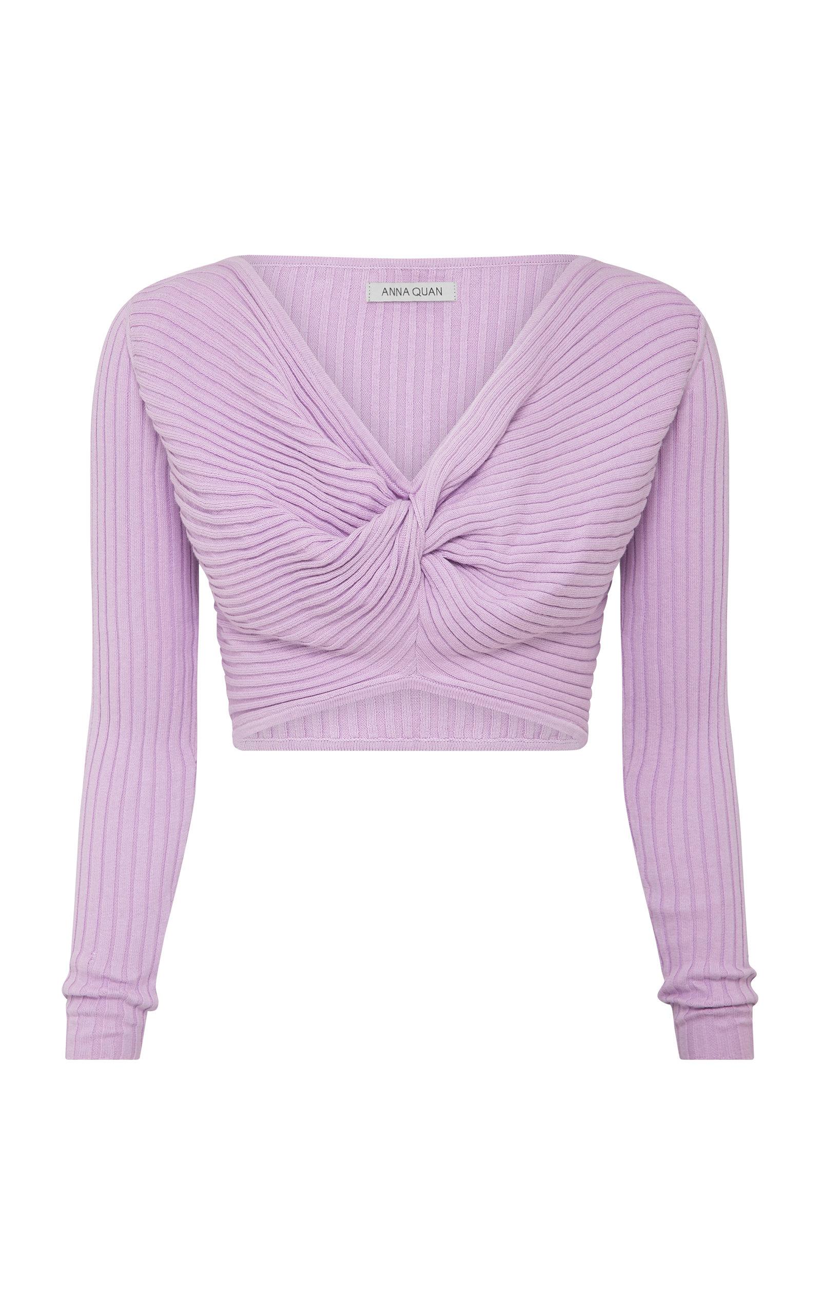 Women's Pascale Tie-Detailed Cotton Crop Top