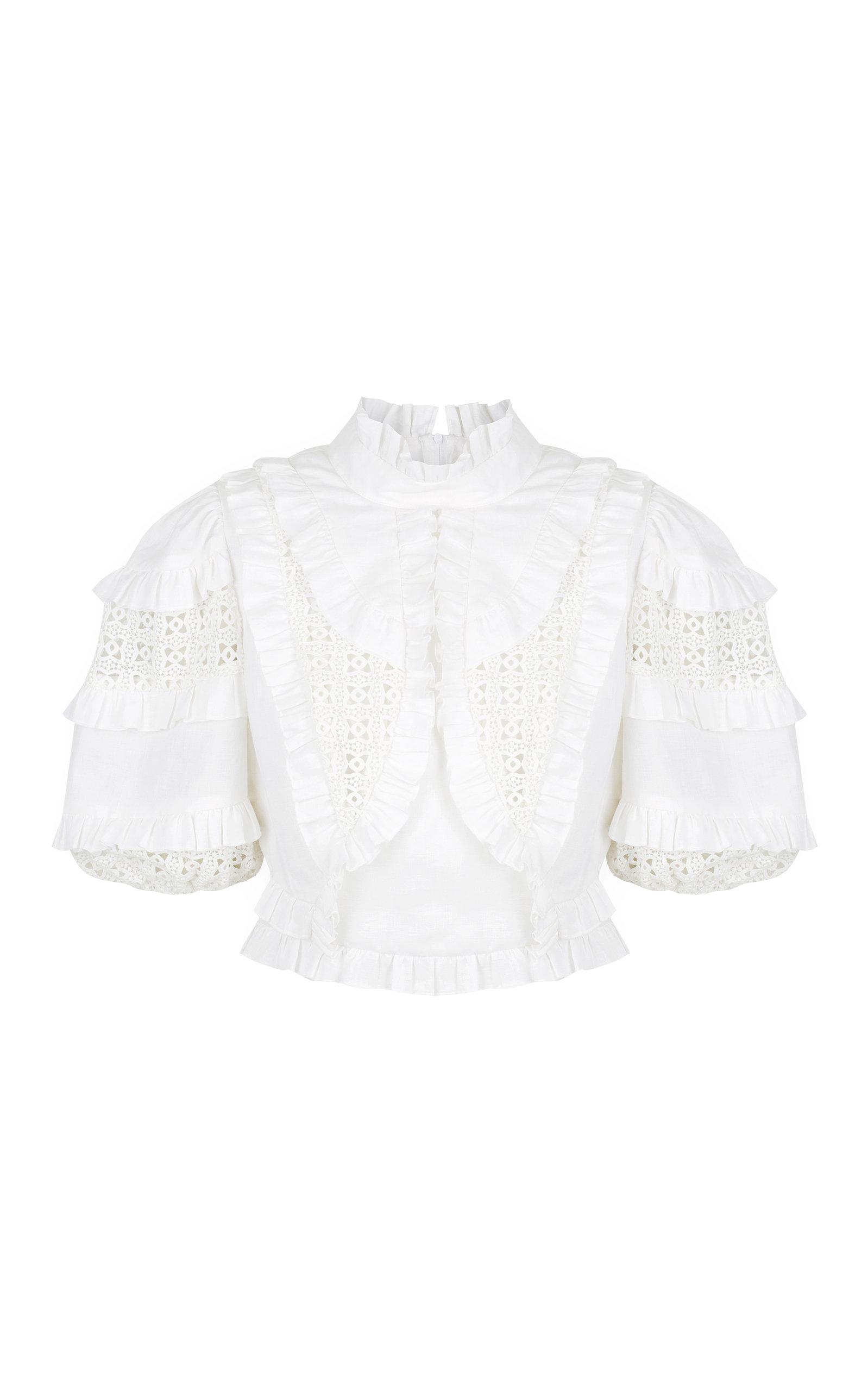 Women's Spliced Cotton Top