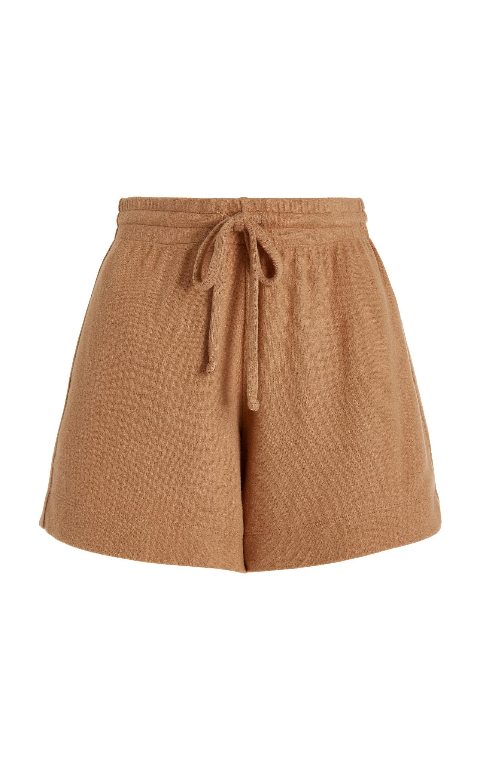 Women's Boxer Knit Mini Shorts