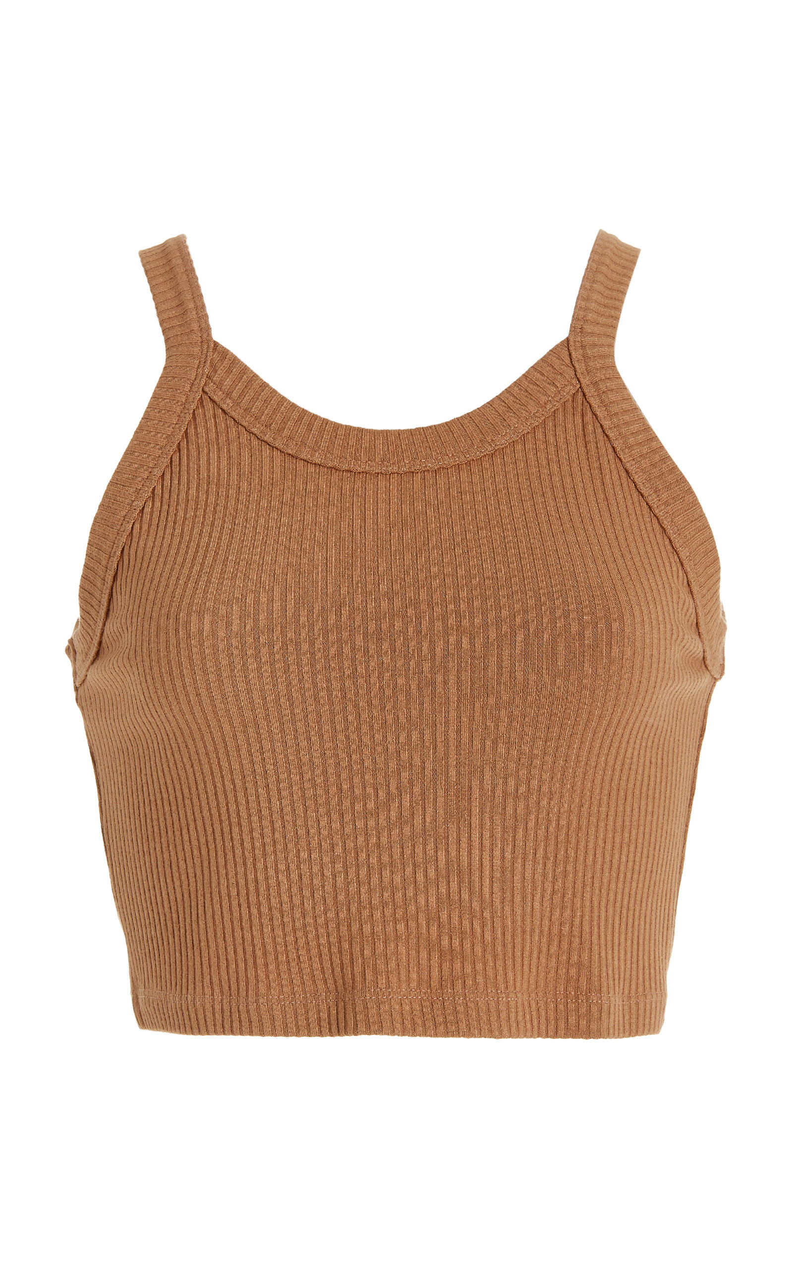 Women's Ali Cropped Ribbed Knit Tank Top