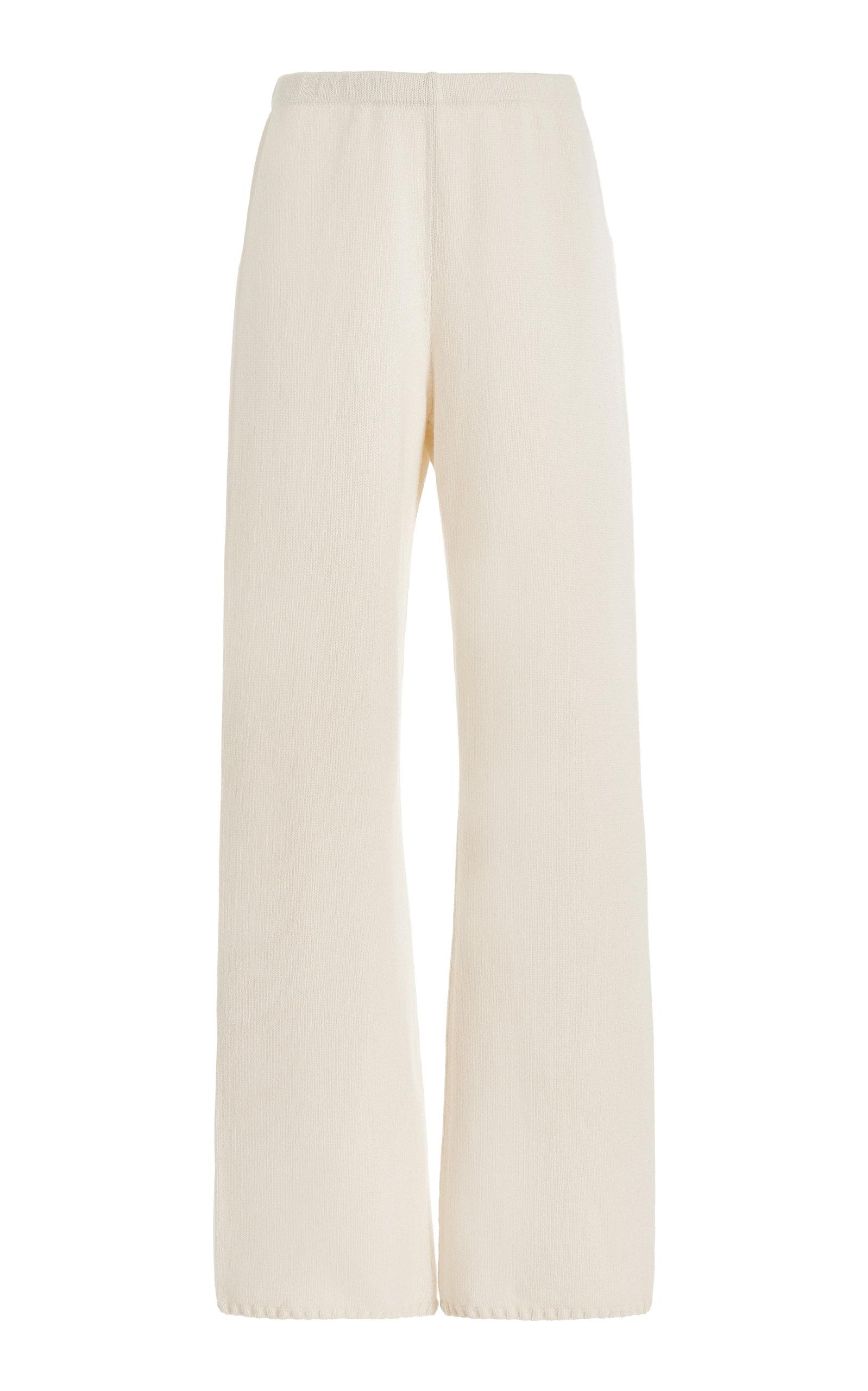 Women's Zoe Wool-Blend Wide-Leg Pants
