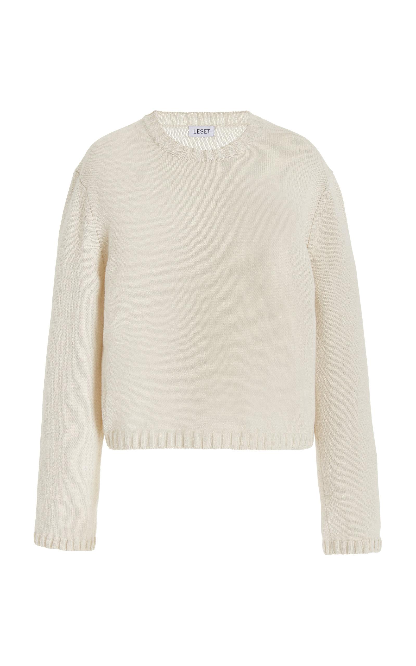 Women's Zoe Cropped Wool-Blend Sweater