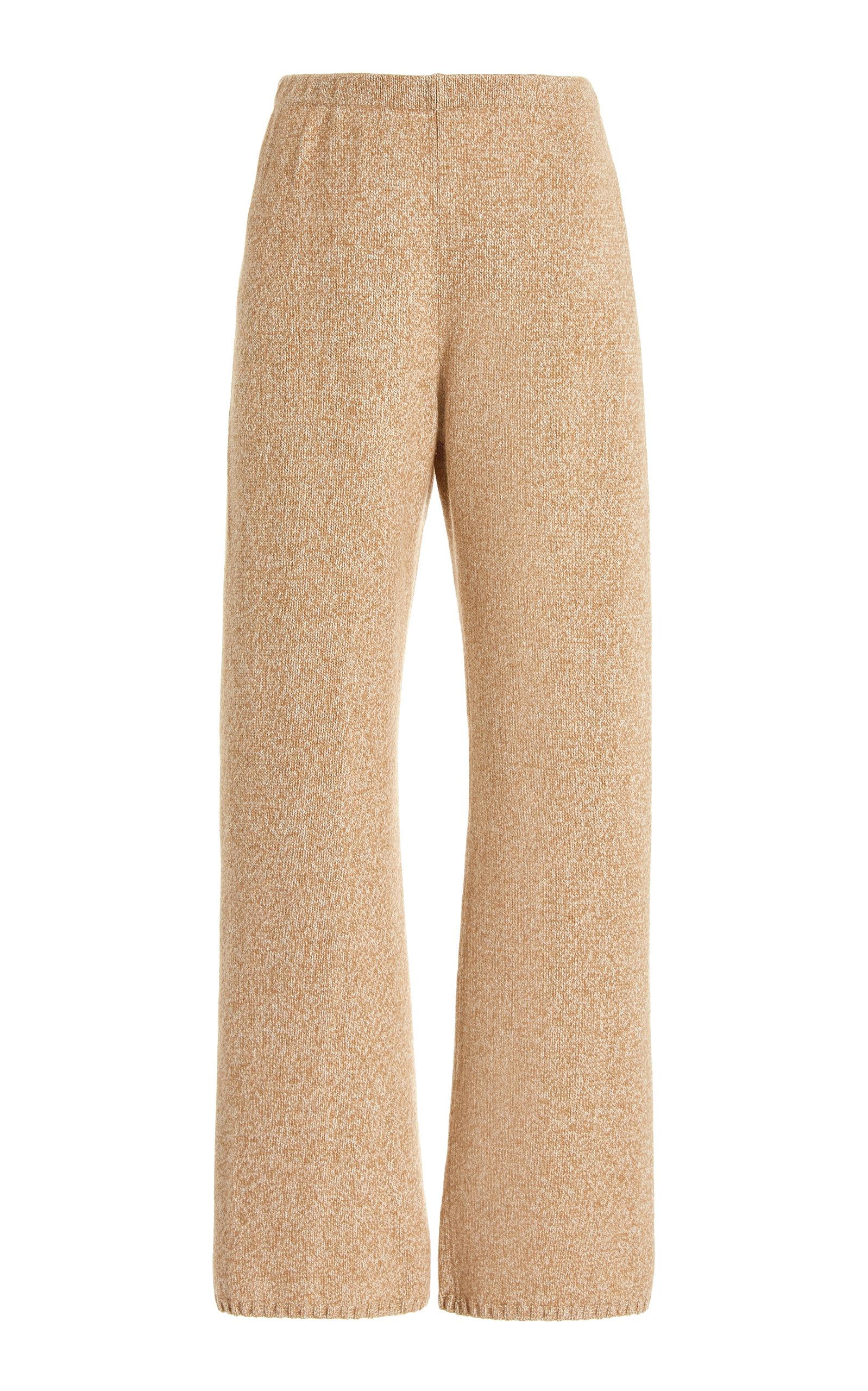 Women's Zoe Wide-Leg Wool-Blend Pants