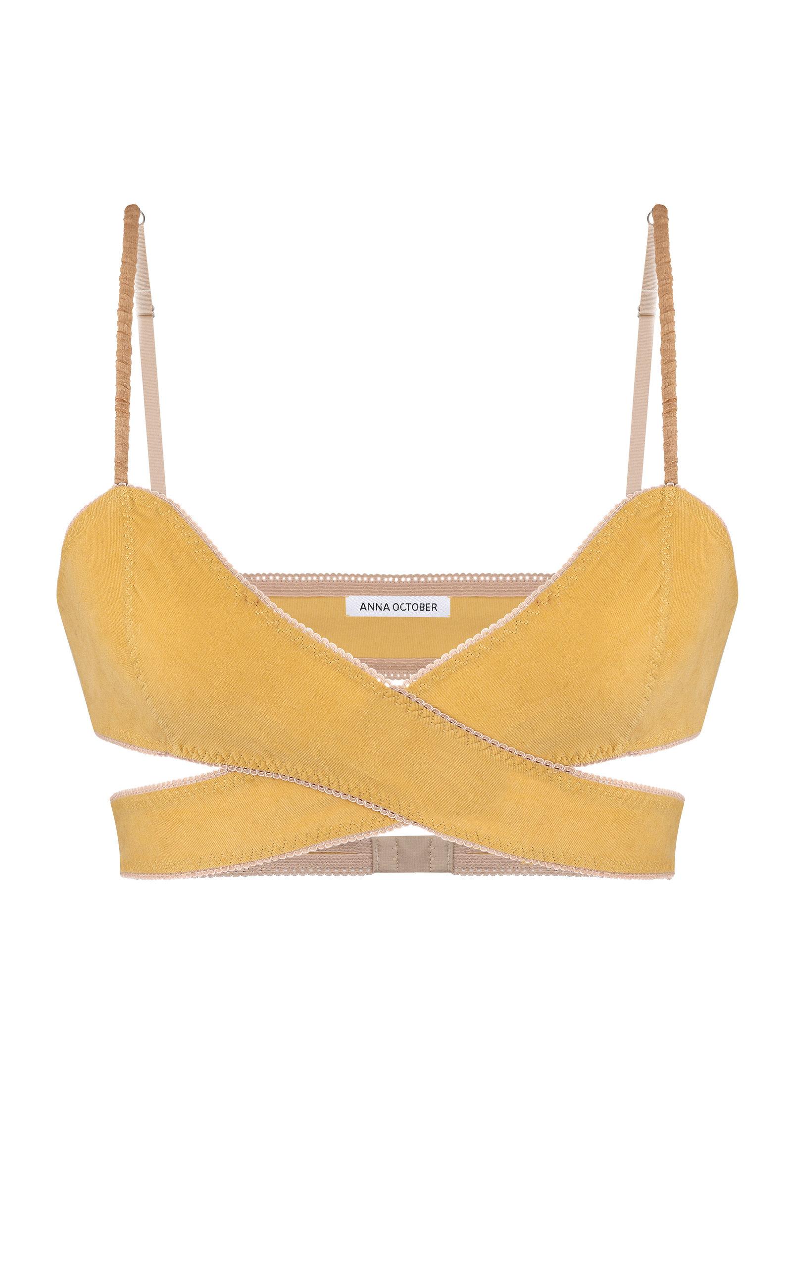 Women's Alice Criss-Cross Cotton Bra Top