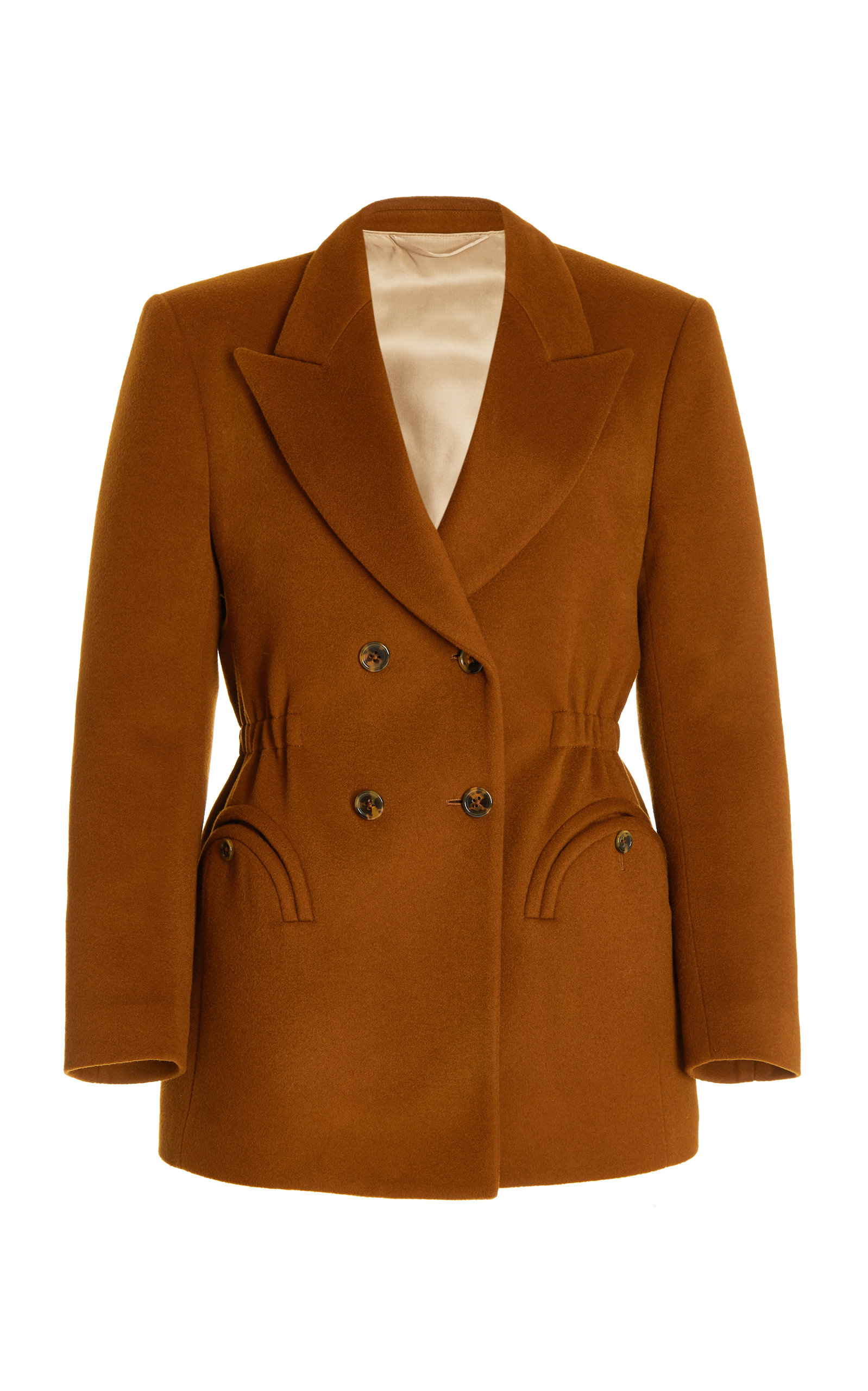 Women's Chinook Anyway Wool-Cashmere Double-Breasted Blazer
