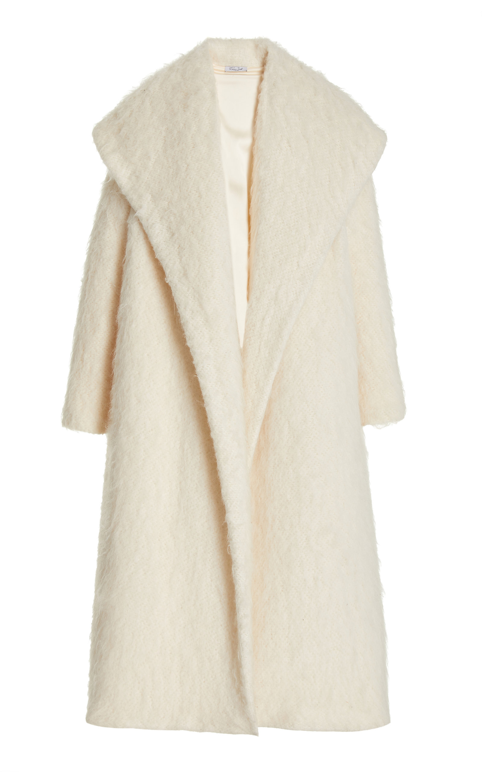 Women's Hooded Textured-Knit Coat
