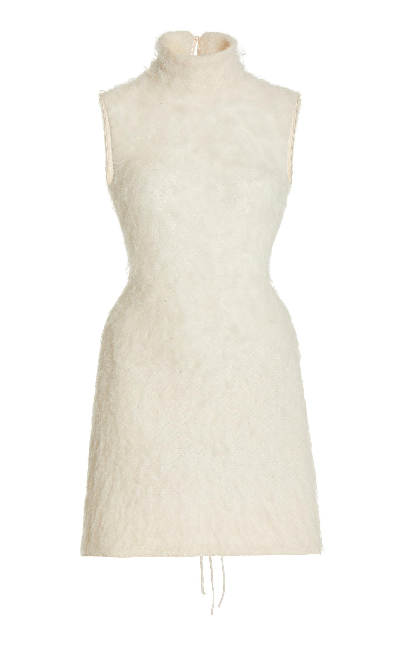 Women's Textured-Knit Mini Dress
