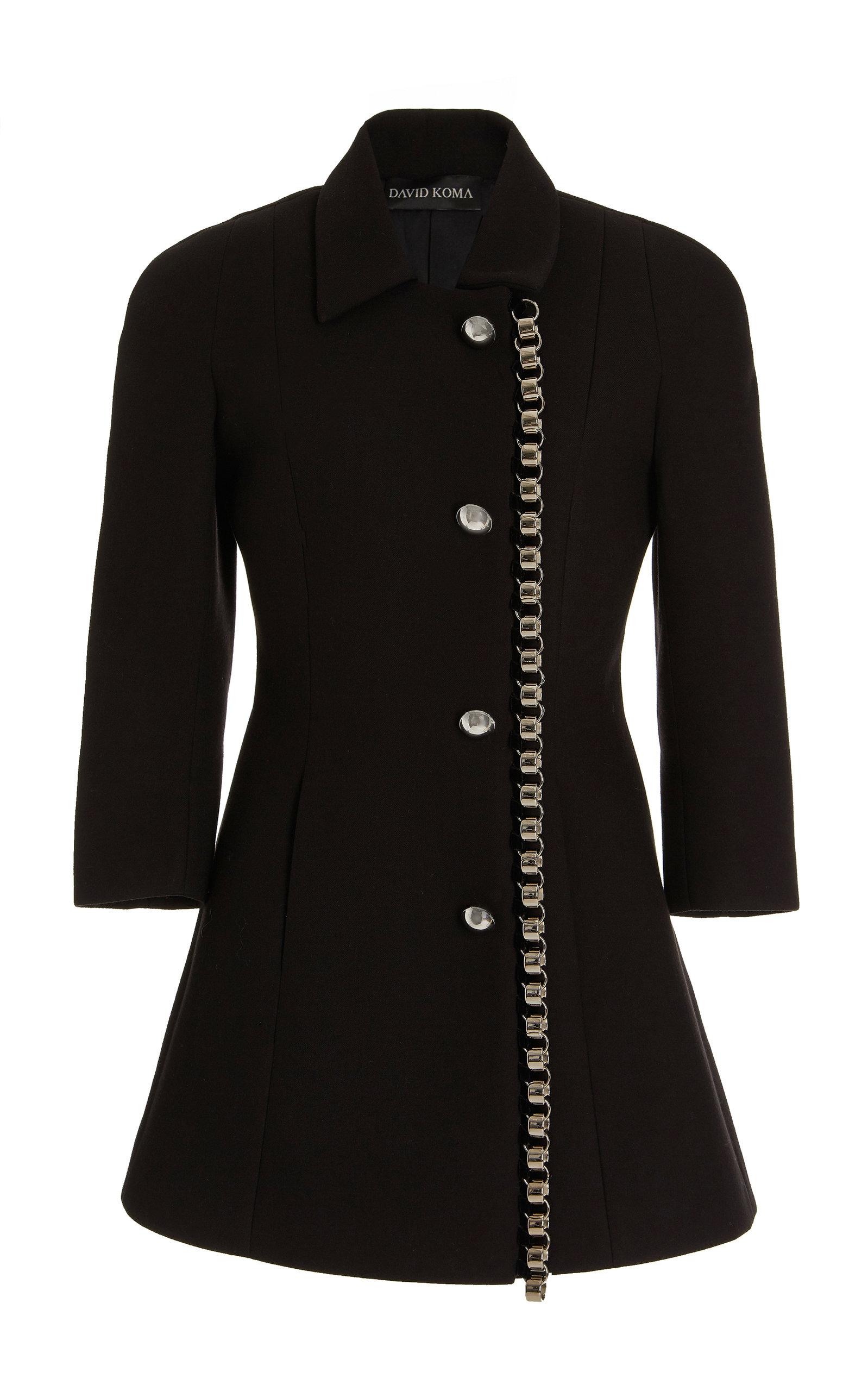 Women's Chain-Detail Cady Coat