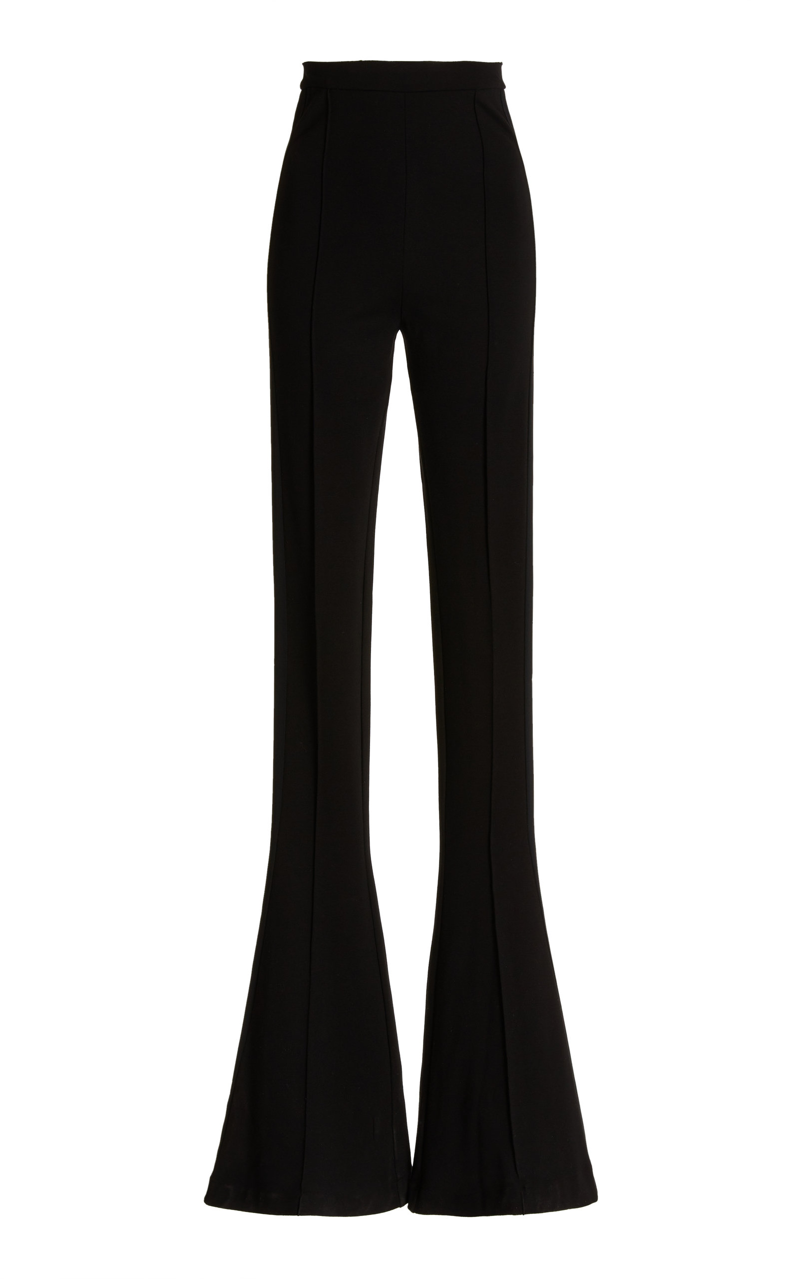Women's High-Rise Flared Jersey Pants