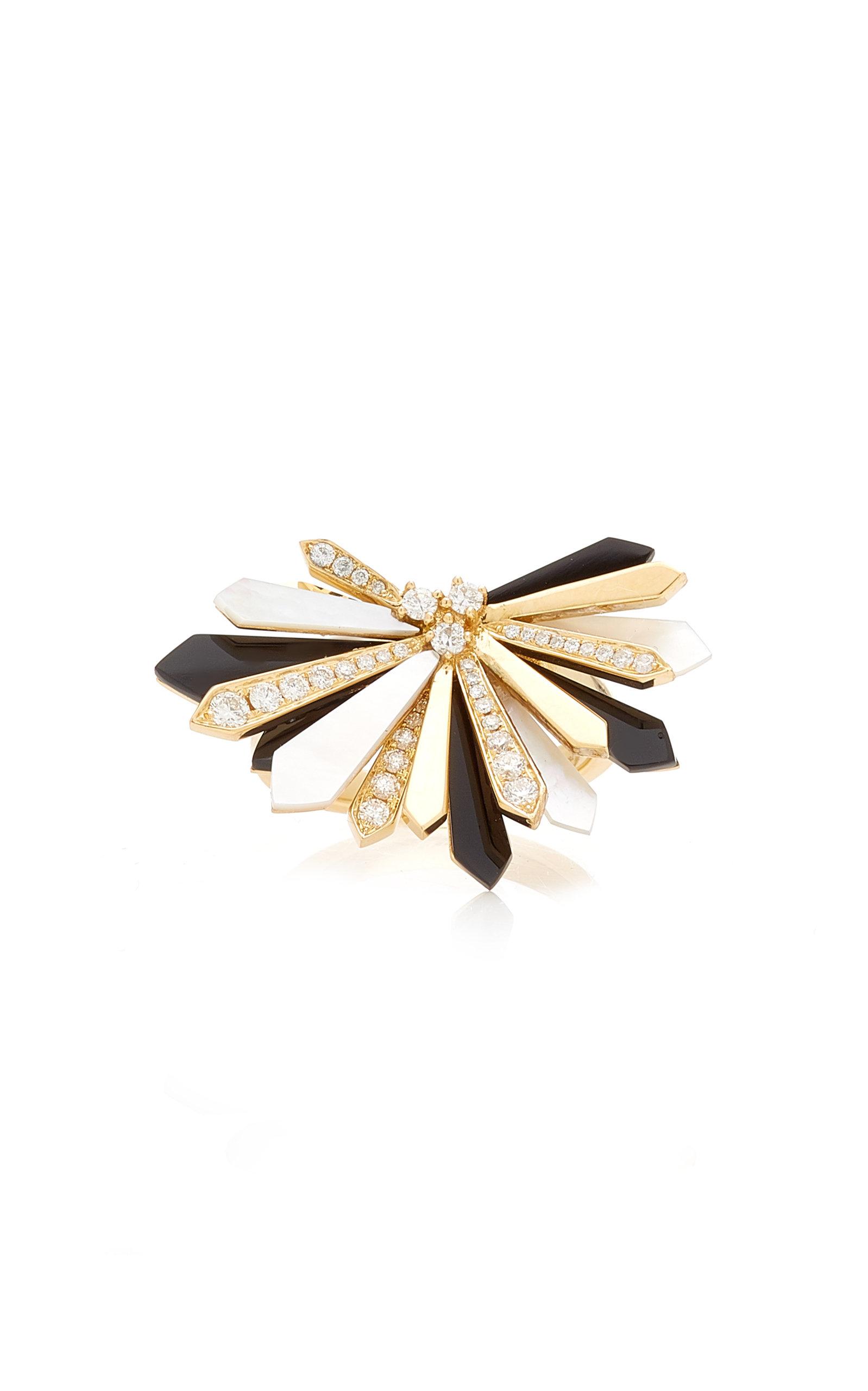 Women's Peancho 18K Yellow Gold Multi-Stone Ring
