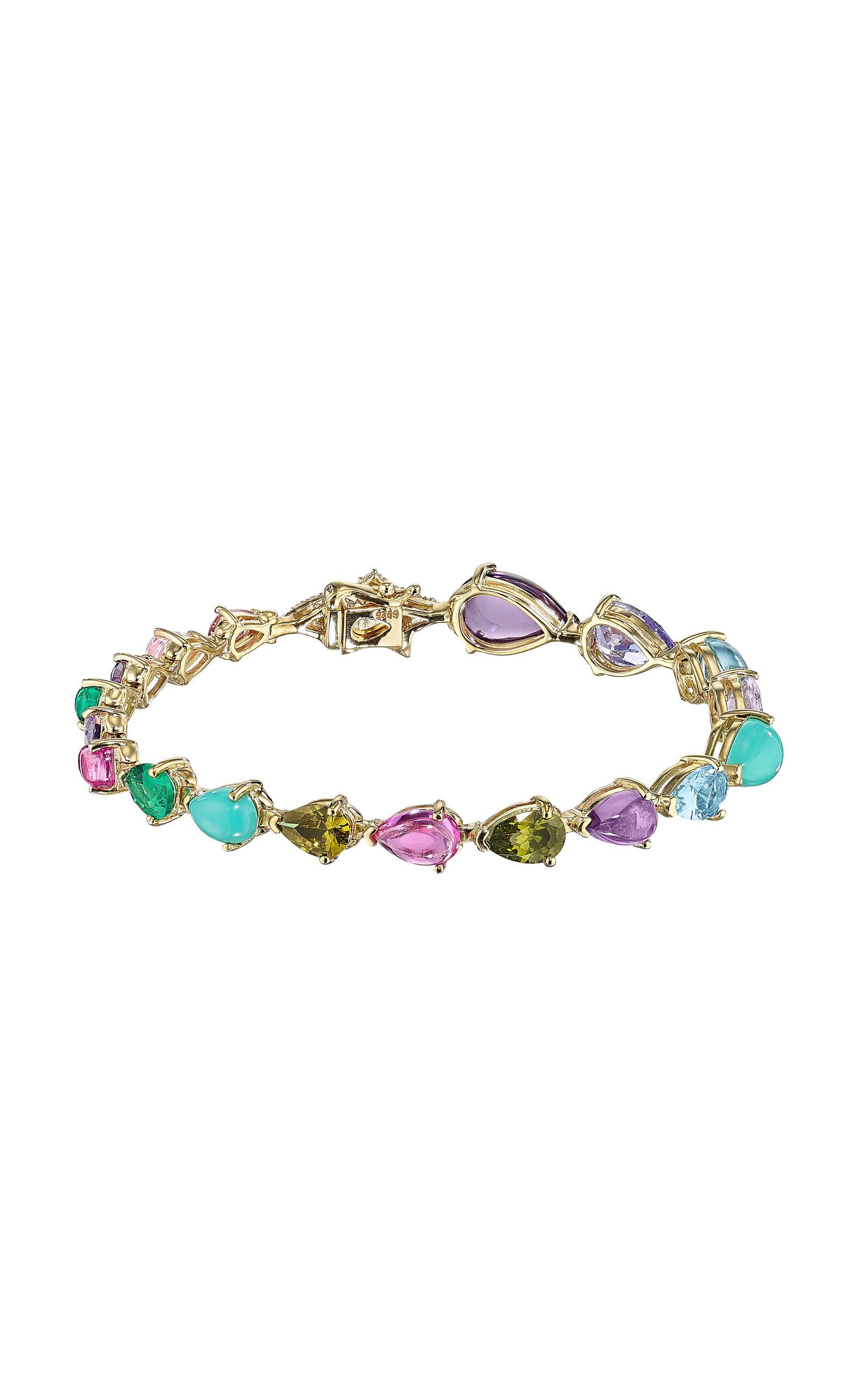 Women's Nova 18K Yellow Gold Multi-Stone Bracelet