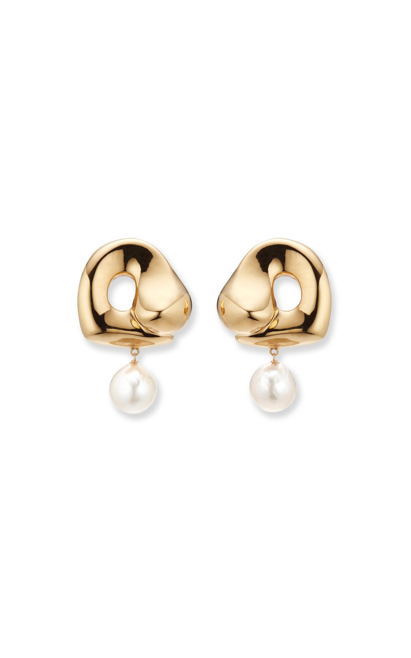 Women's x Simone Bodmer-Turner Sandra 18K Gold Vermeil Pearl Earrings