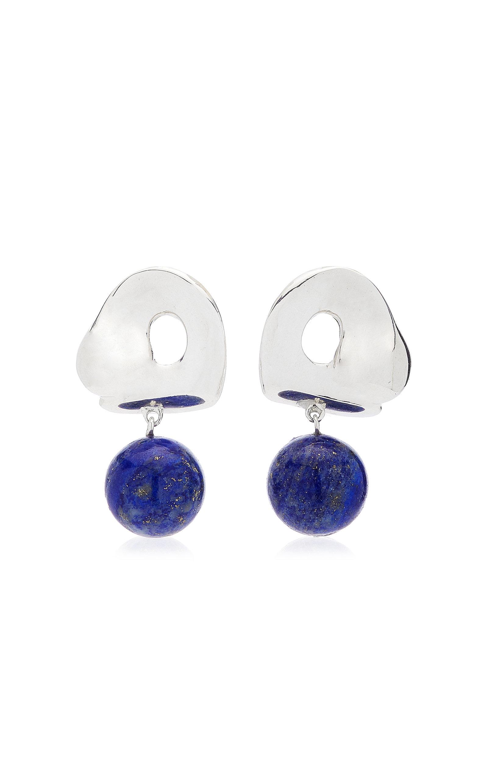 Women's x Simone Bodmer-Turner Sandra Sterling Silver Lapis Earrings