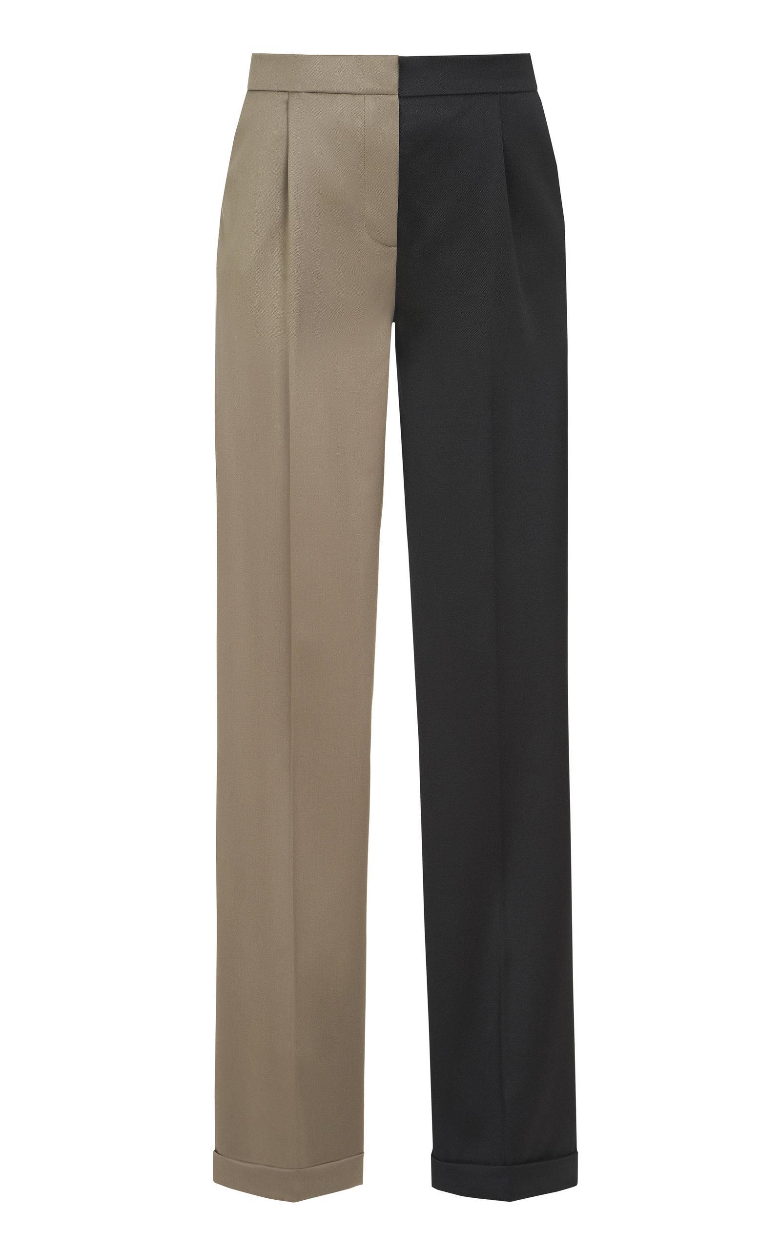 Women's Wool Wide-Leg Pants