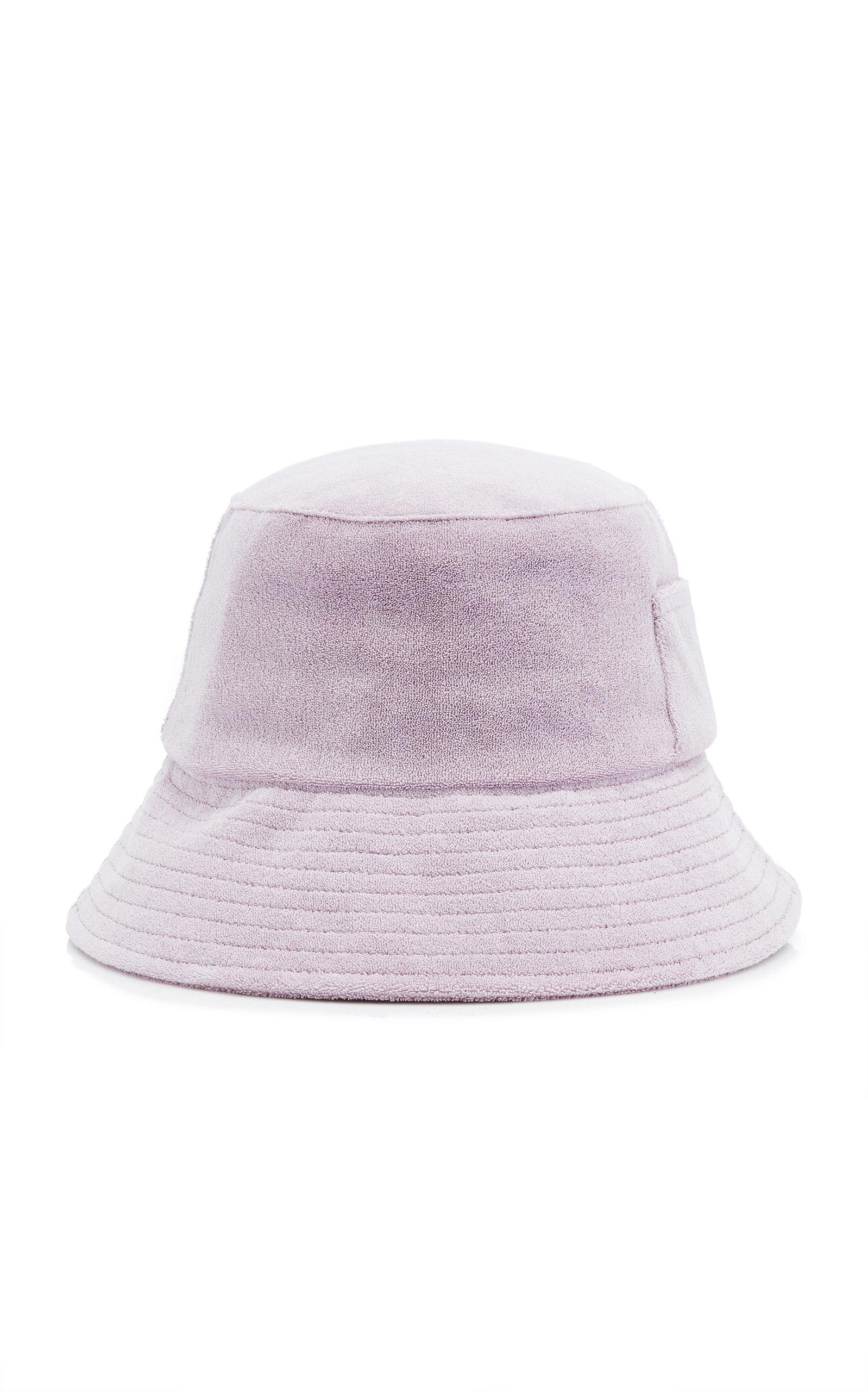 Women's Wave Cotton Terry Bucket Hat