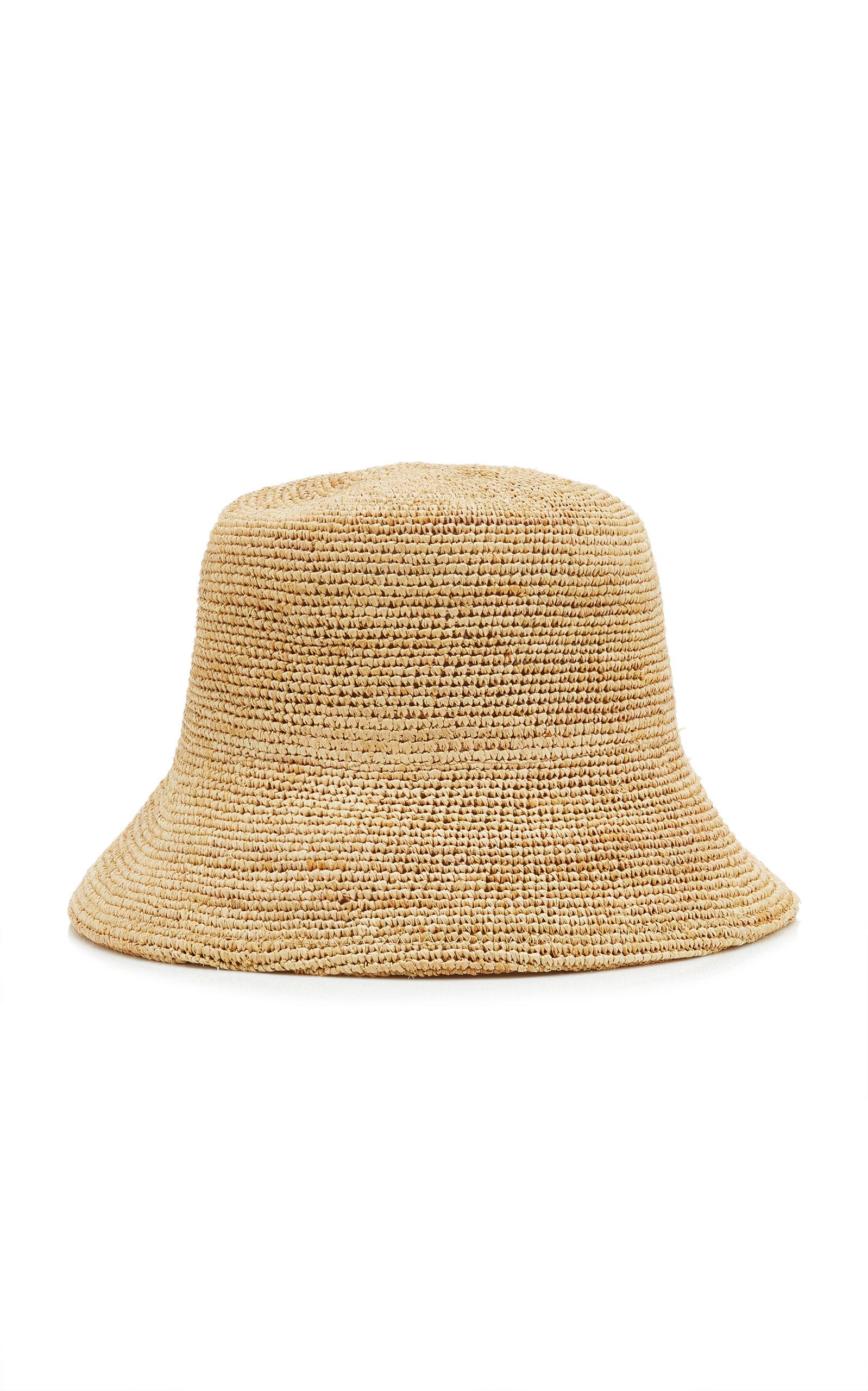 Women's Inca Raffia Bucket Hat