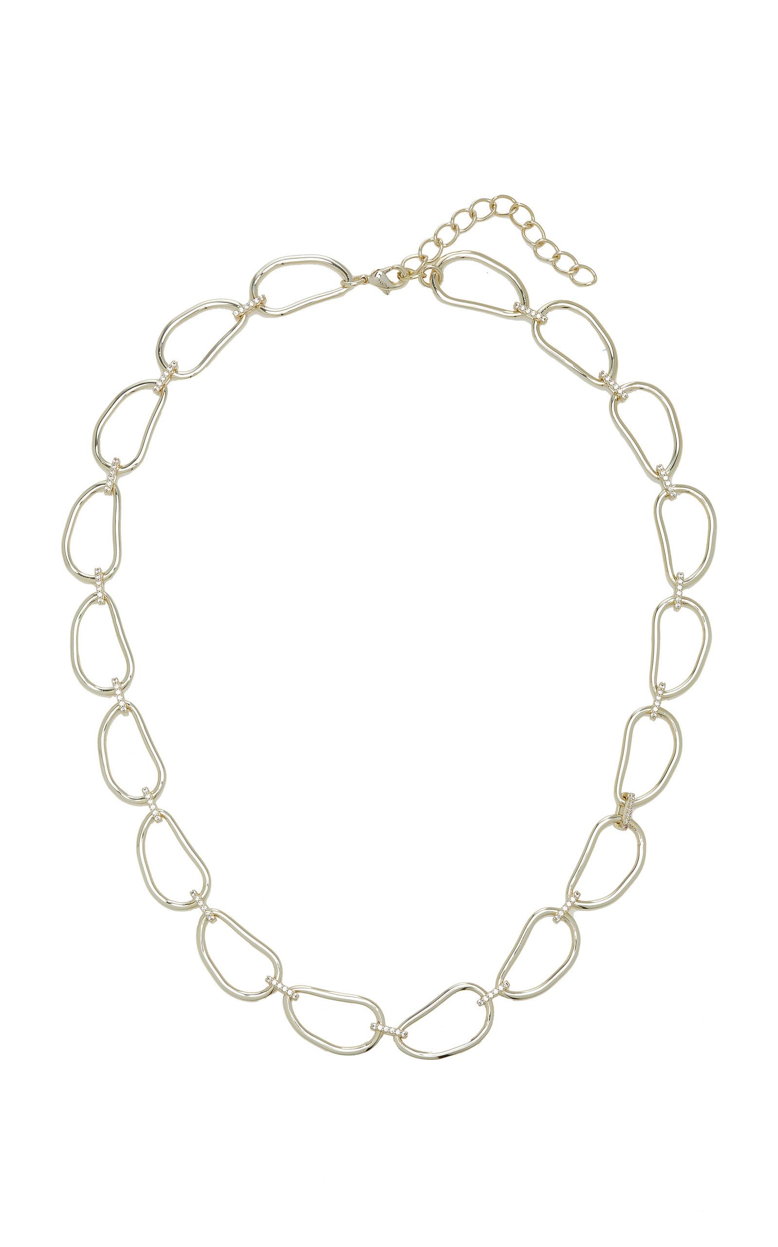 Emili - Women's Karen Gold Vermeil-Plated Necklace - Gold - Moda Operandi