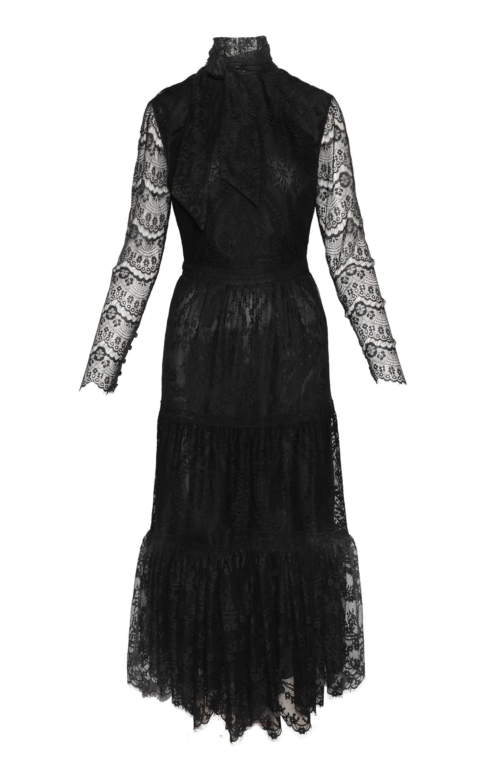 Women's Avestruces Lace Midi Dress