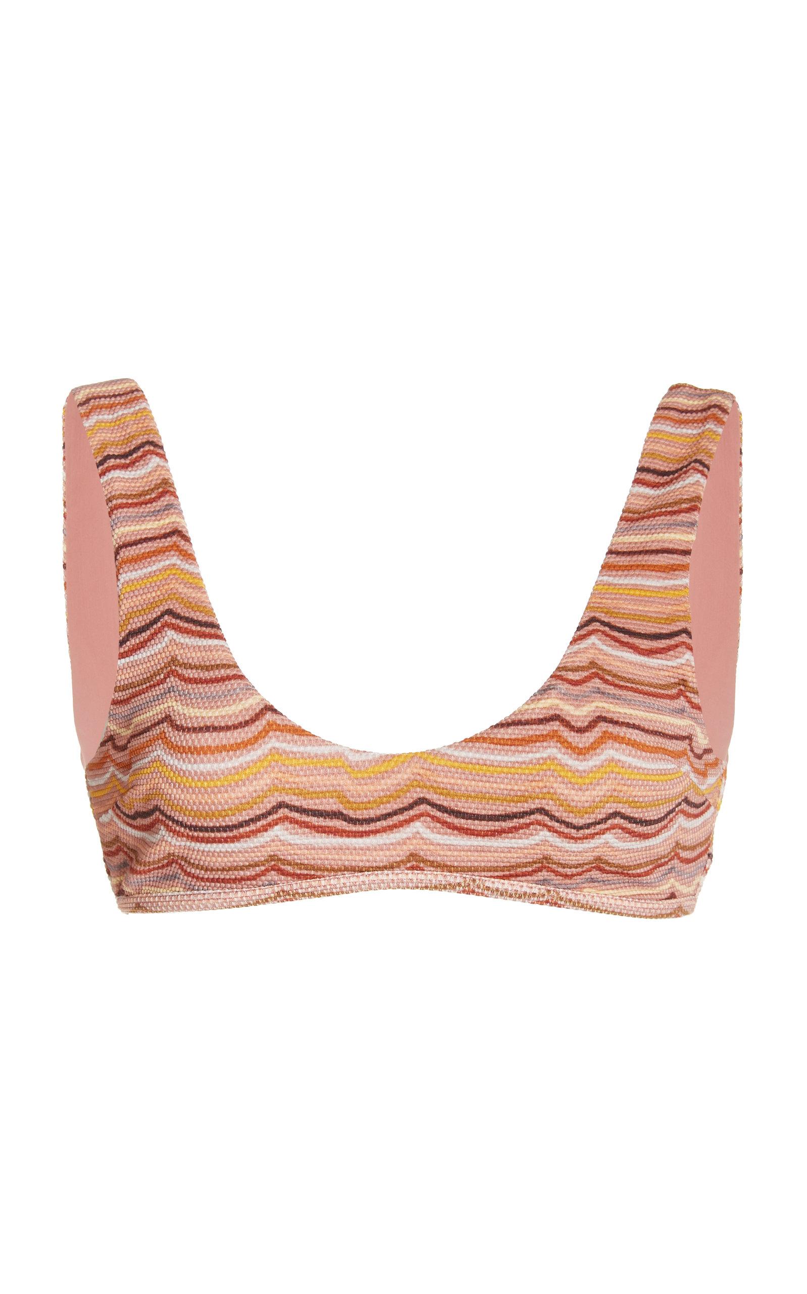 Women's Alfie Printed Bikini Top