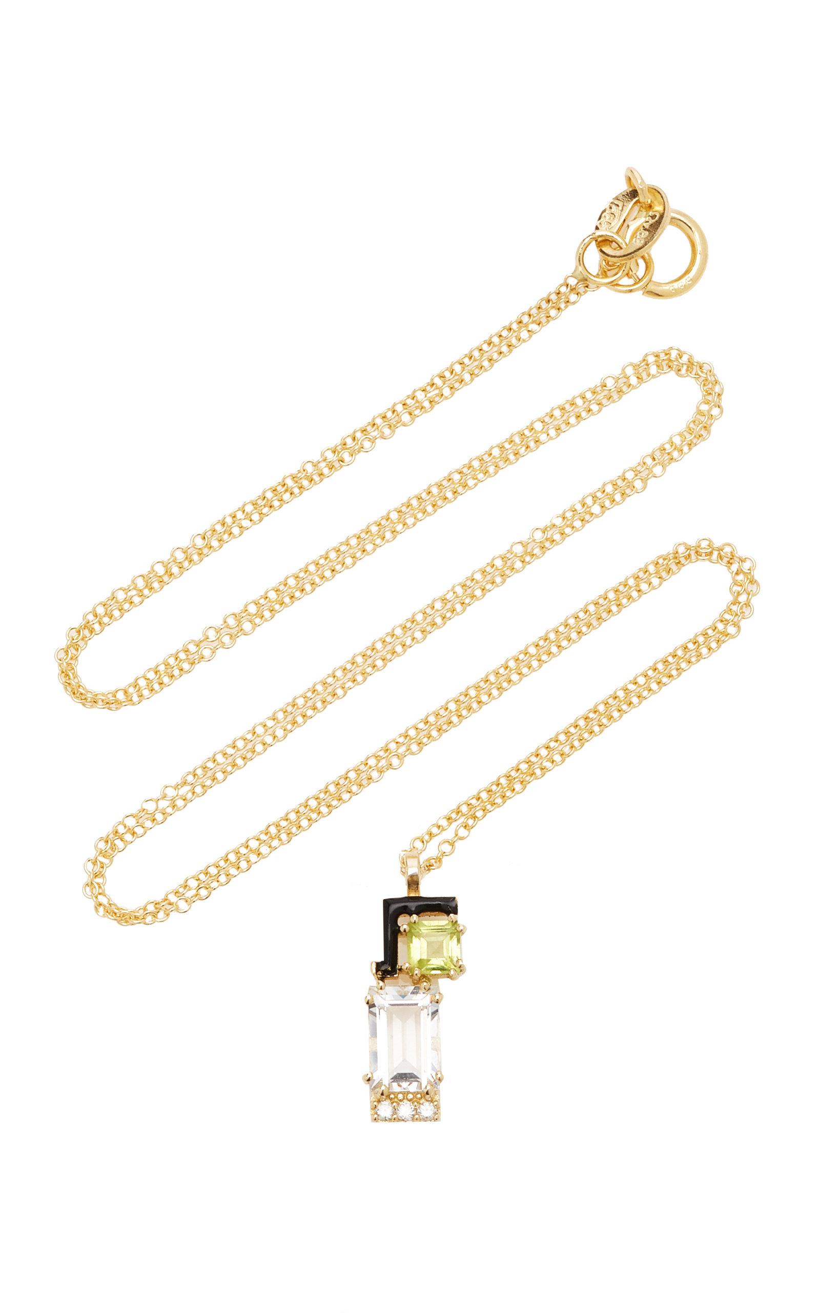 Women's Jolly 14K Yellow Gold Multi-Stone Necklace