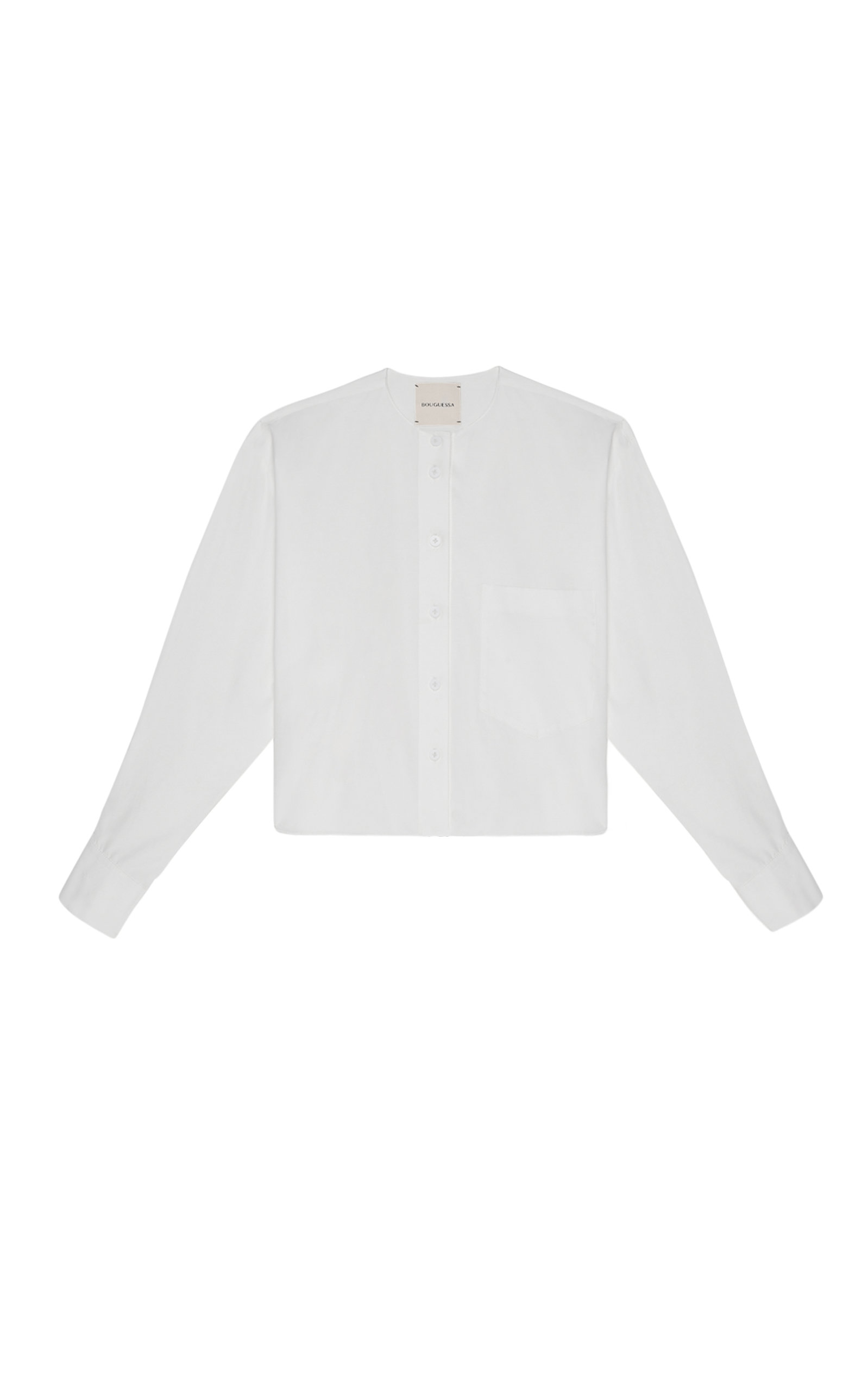 Women's Hibah Cotton Cropped Shirt