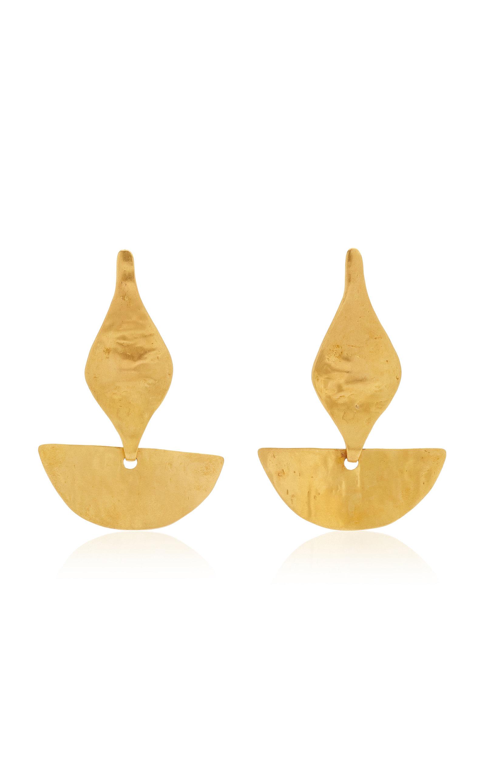 Women's Paloma 24K Gold-Plated Earrings