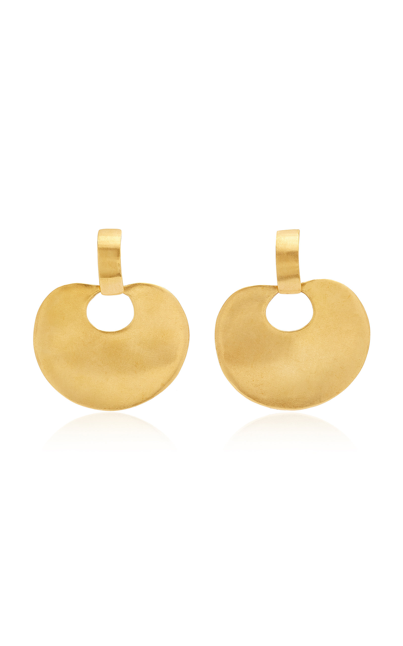 Women's Nariguera 24K Gold-Plated Earrings