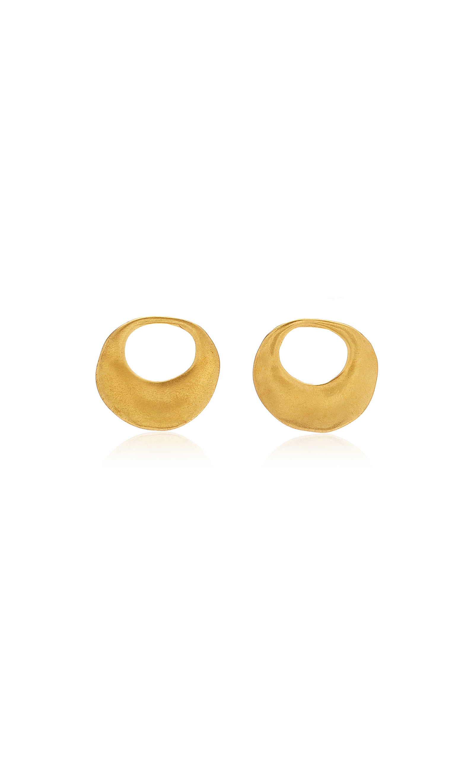 Women's Nariguera Pequena 24K Gold-Plated Earrings