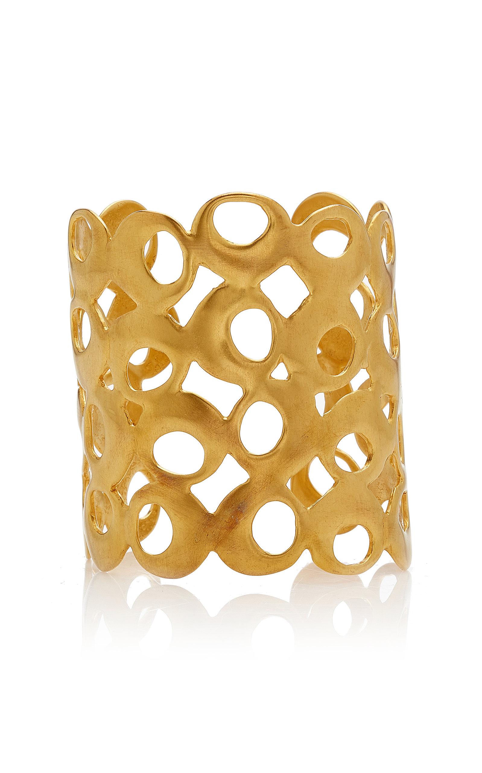 Women's Nariguera 24K Gold-Plated Cuff