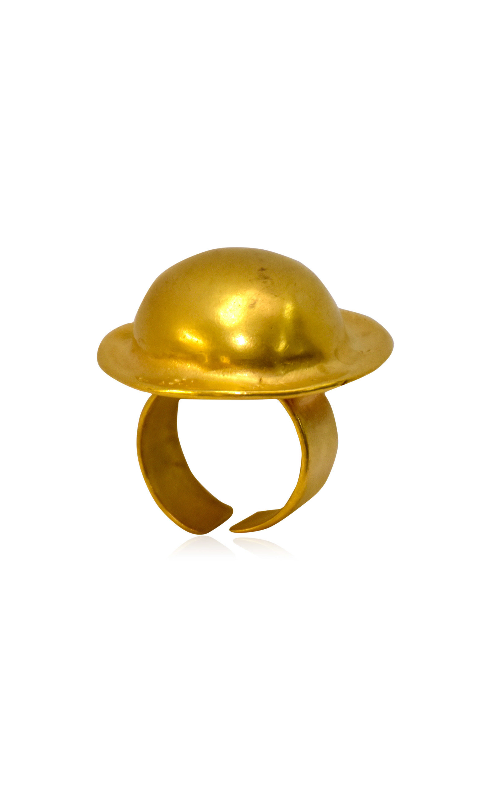 Women's 24K Gold-Plated Totumo Ring