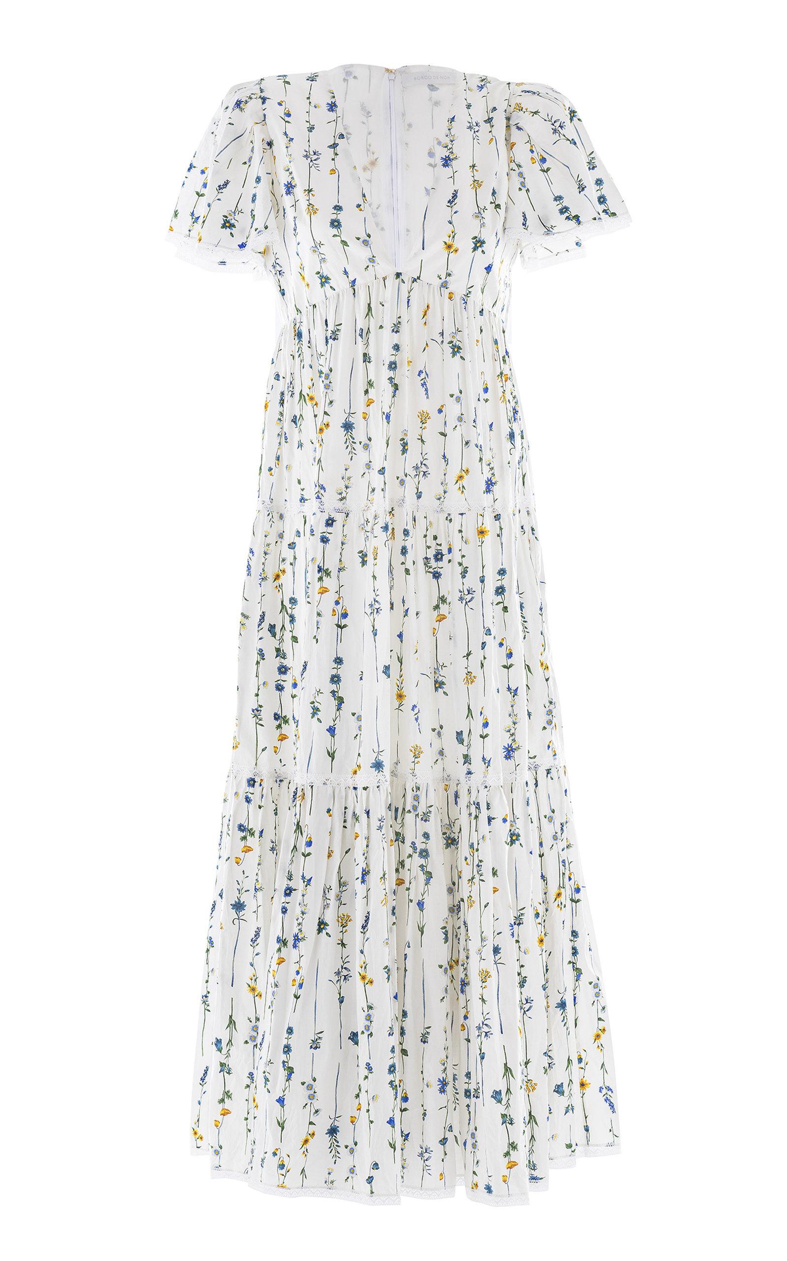 Women's Agnes V-Neck Tiered Dress