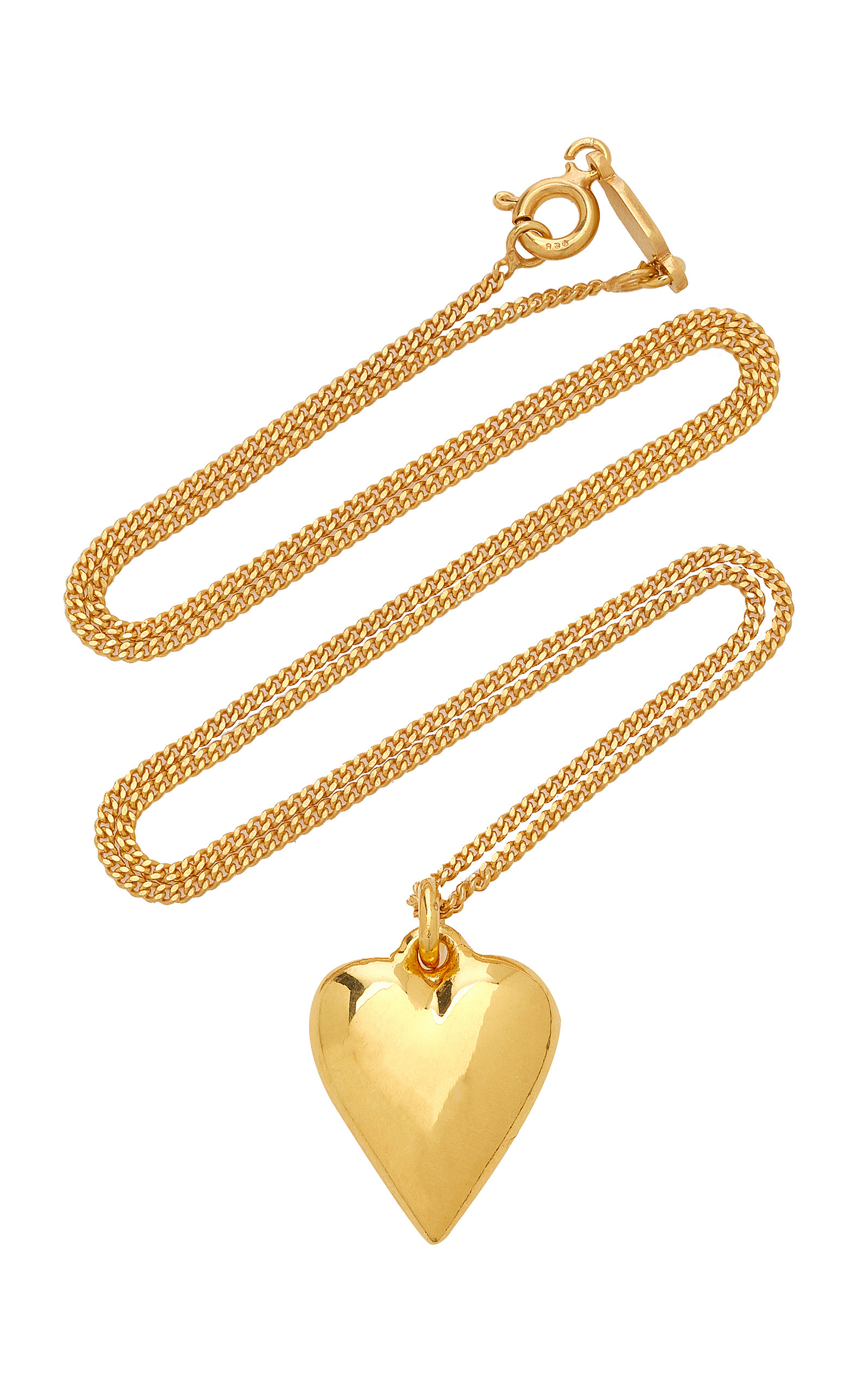 Women's Exclusive Heart 14K Gold-Plated Necklace