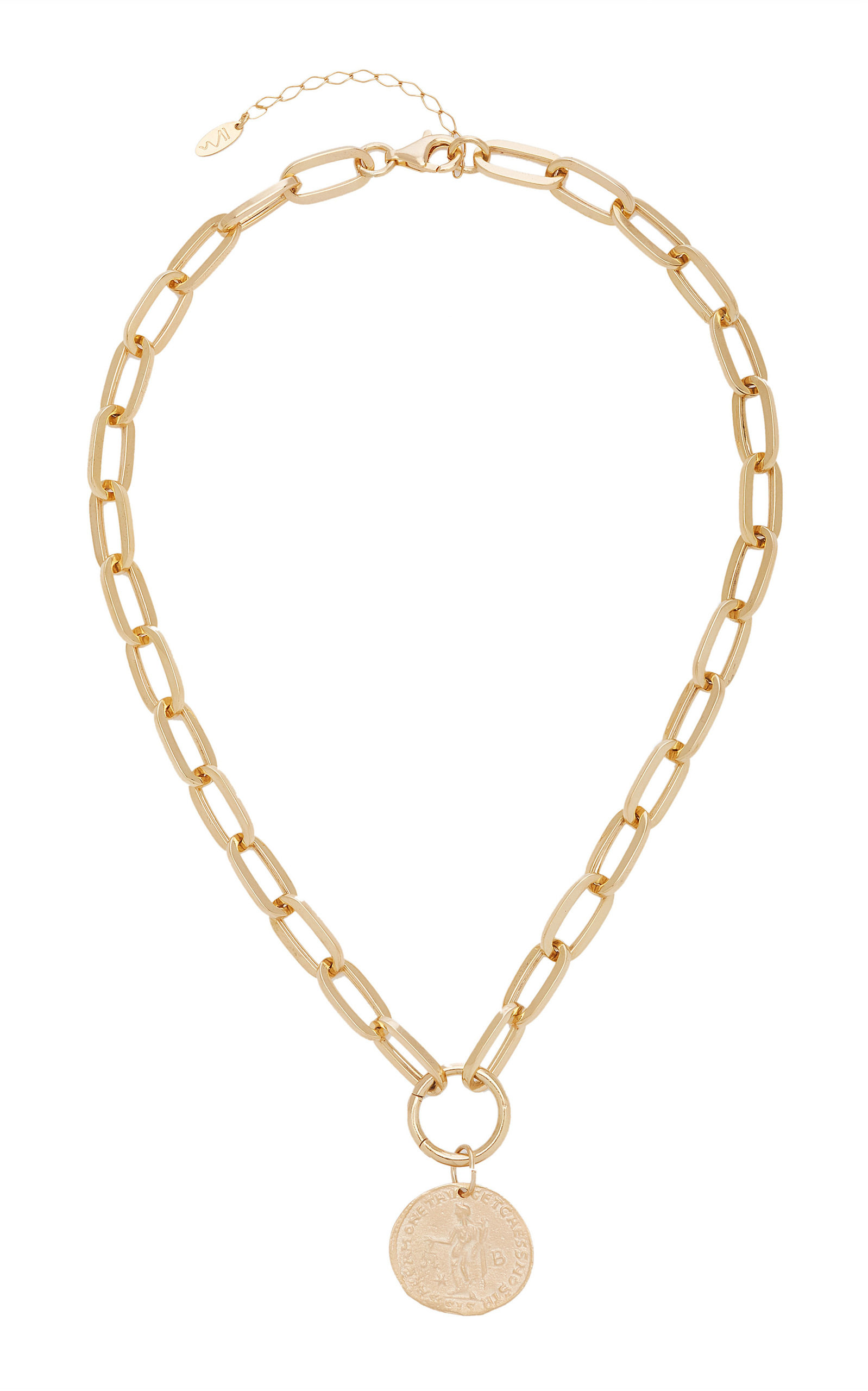 Women's Elijah 18K Gold-Plated Necklace