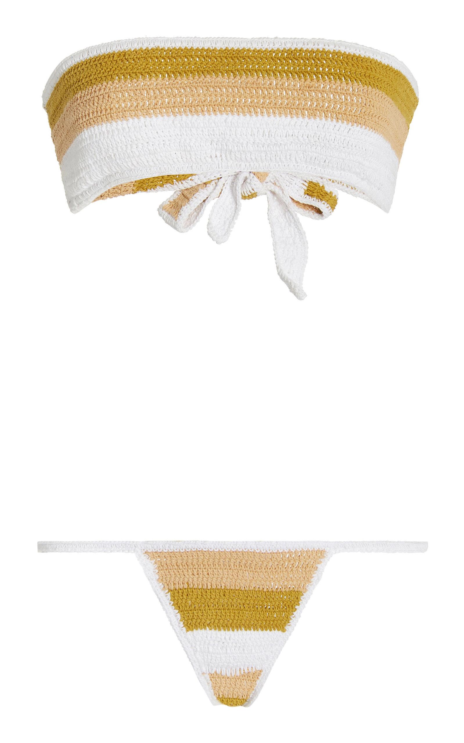 Women's Jailur Crocheted Cotton Bikini