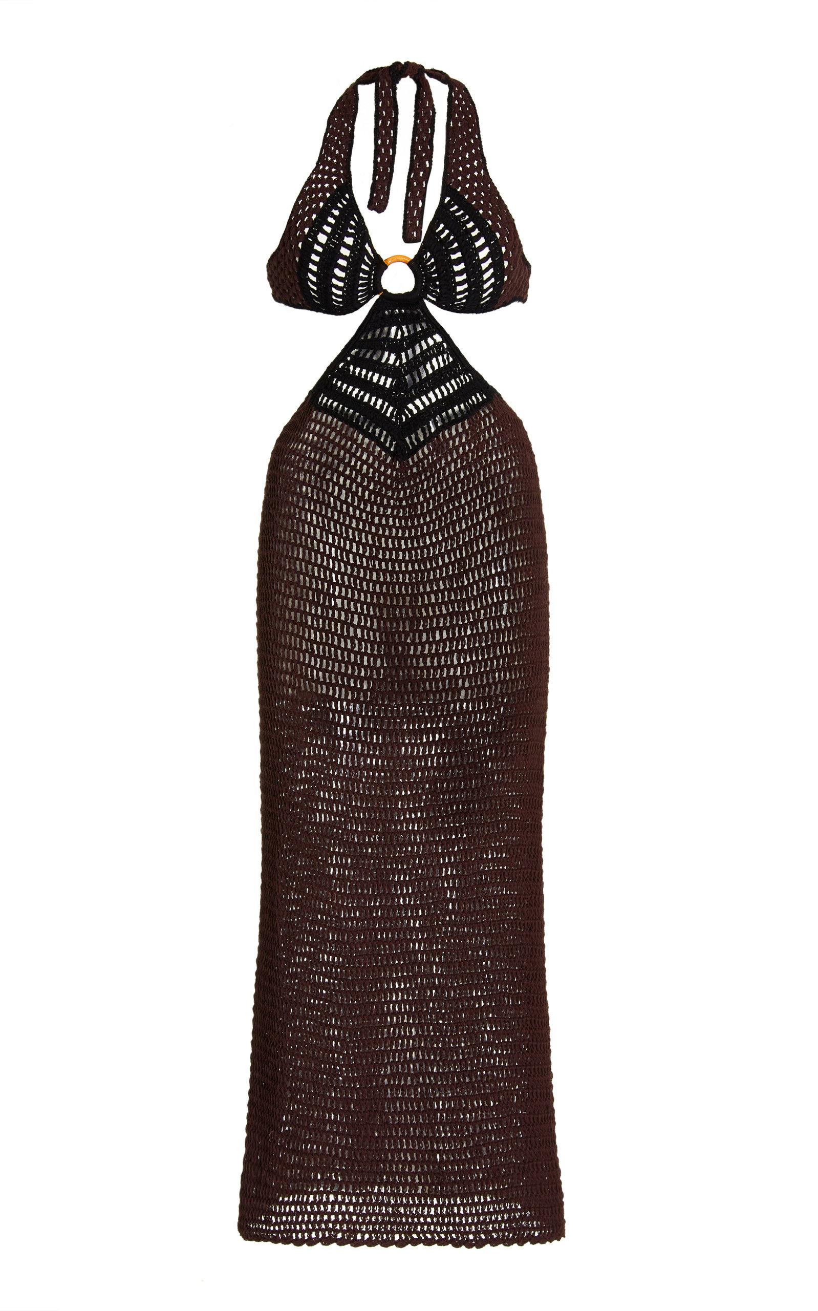 Women's Bambu Crocheted Cotton Dress