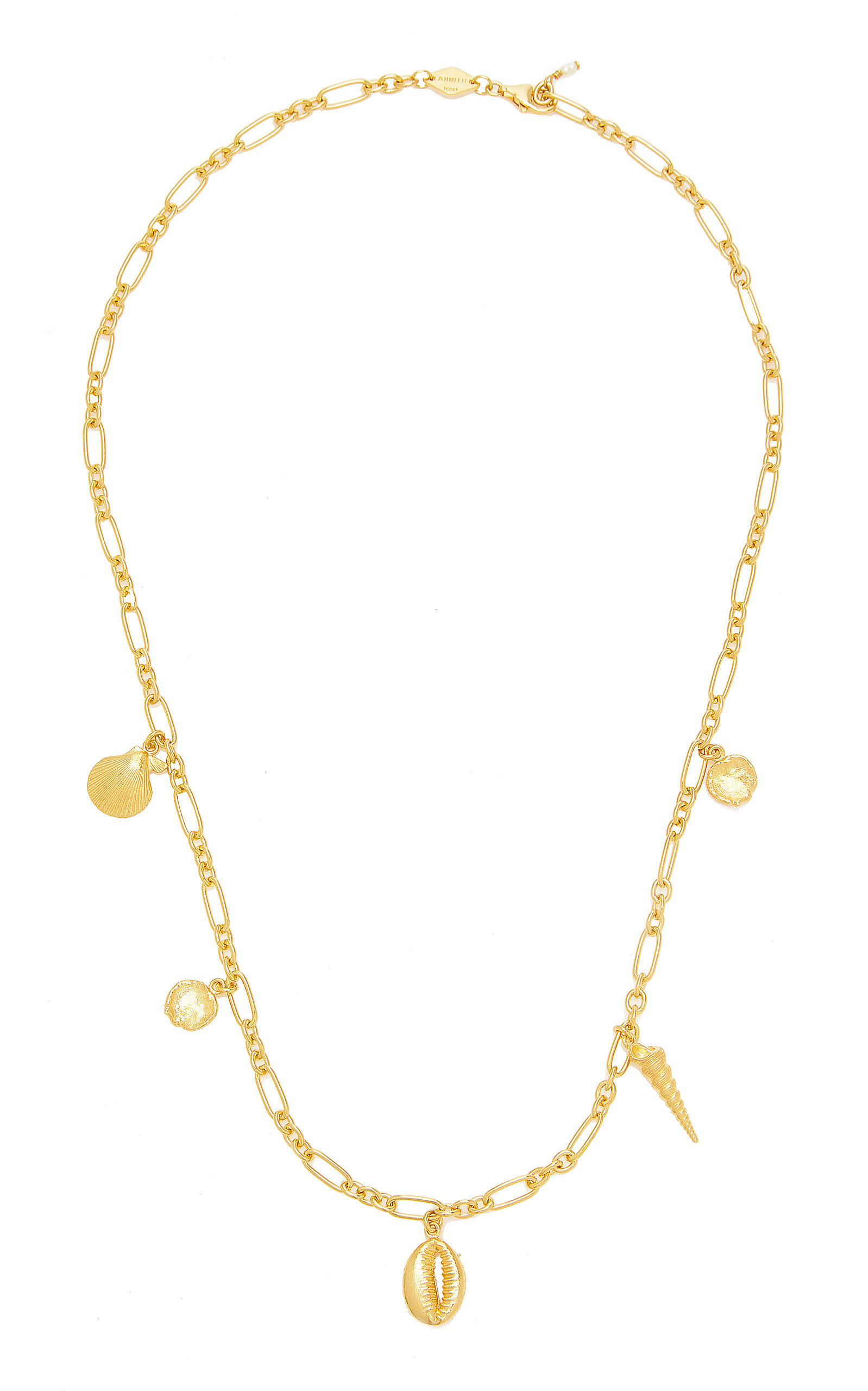 Women's Summer Treasure Gold-Plated Sterling Silver Necklace