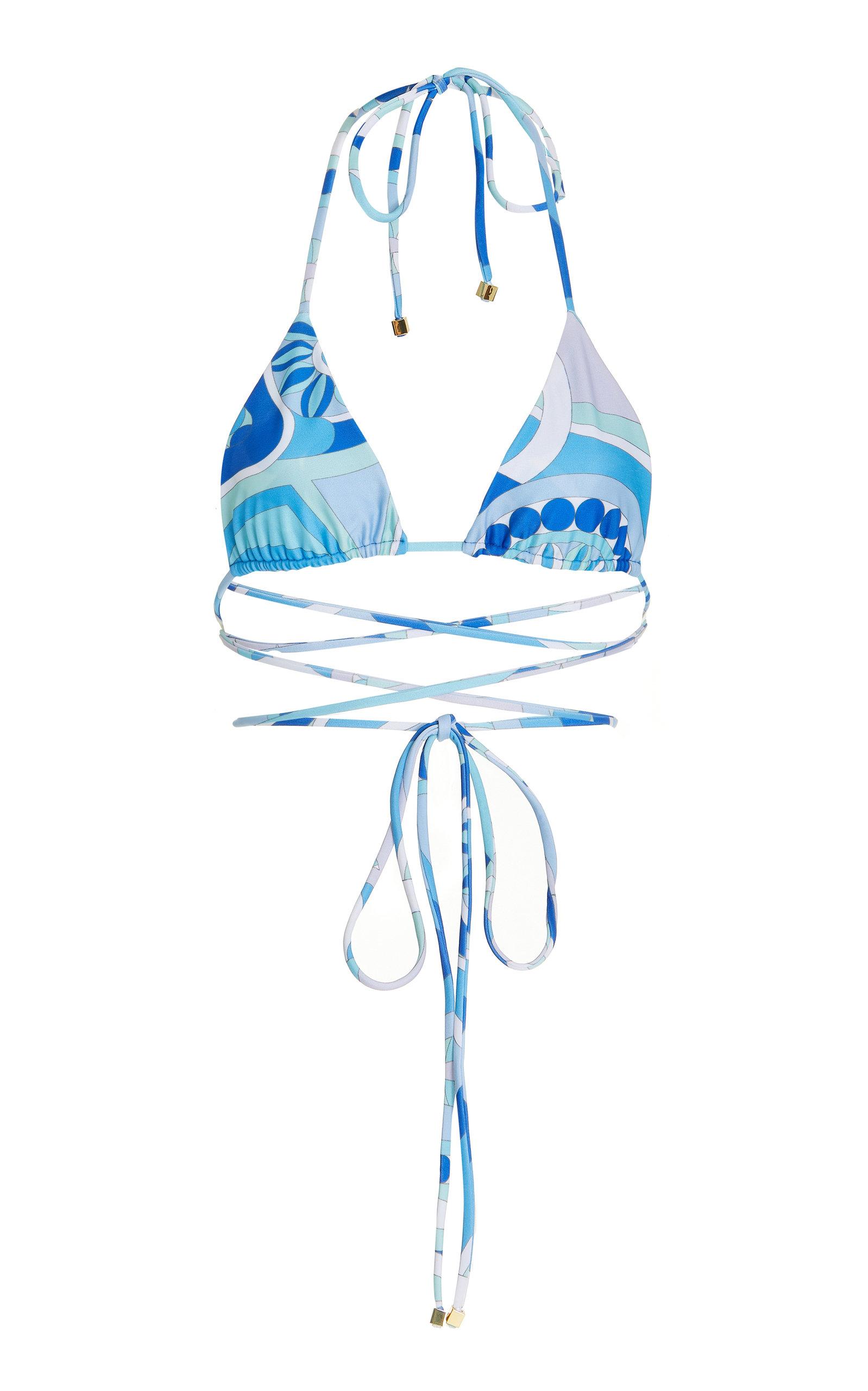 Women's Spectra Printed Wrap-Around Bikini Top