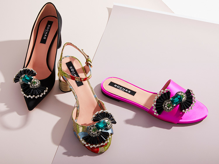 on wholesale well known info for Rochas Shoes Trunkshow | Moda Operandi